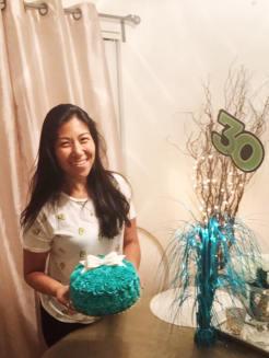 Belated birthday celebration