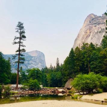 Mirror Lake at Yosemite